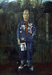Peter Blake : Self portrait badges 1961