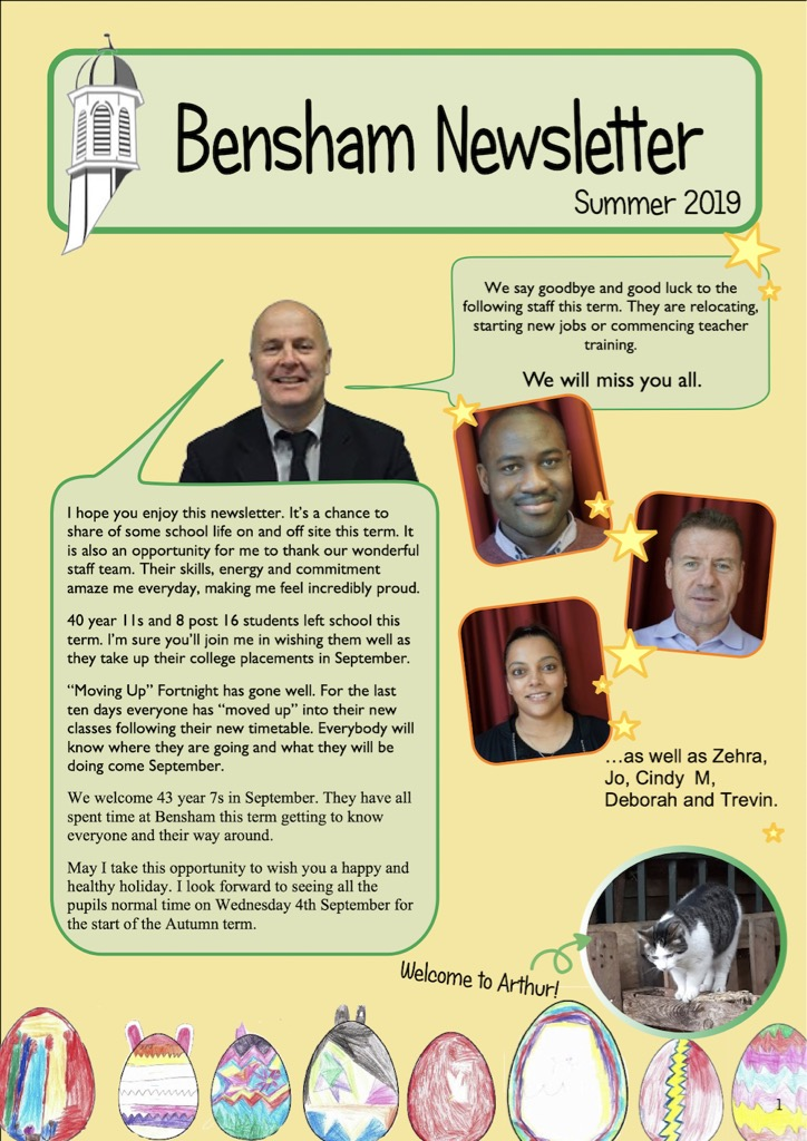 Our Summer 2019 Newsletter - File Size: 8MB