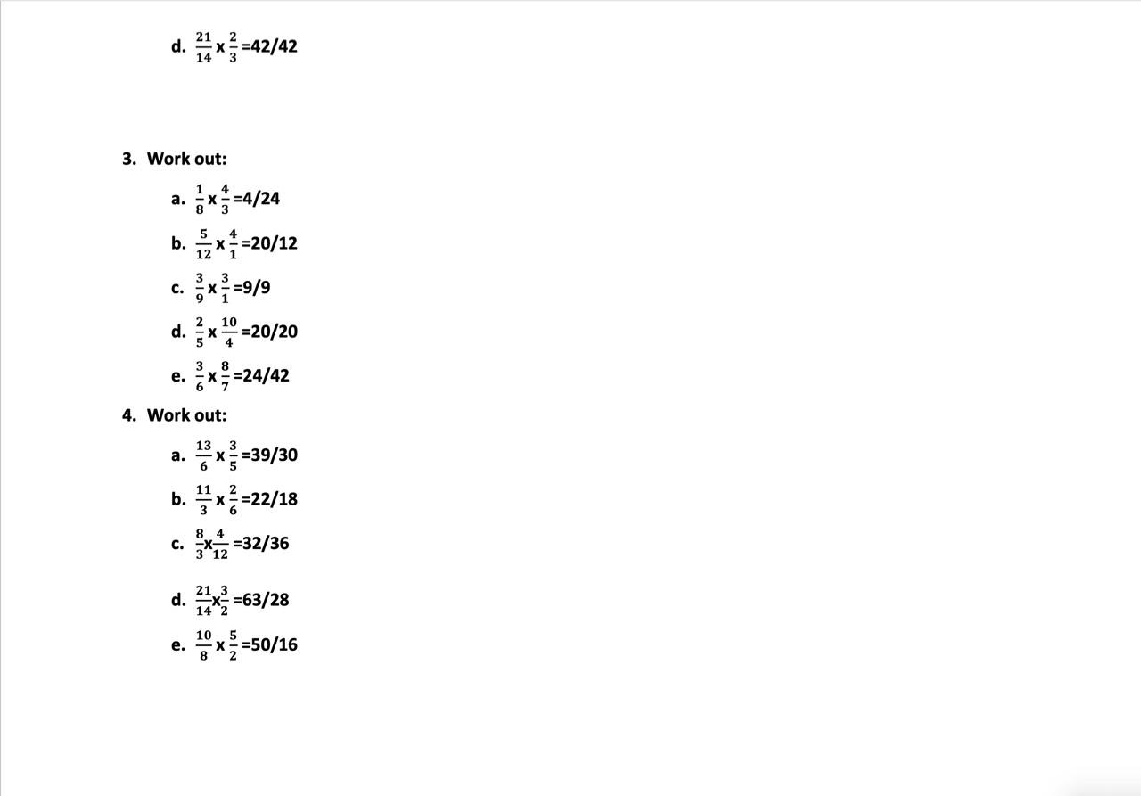 Maths 3-1